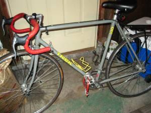 My Trek 330 touring bike